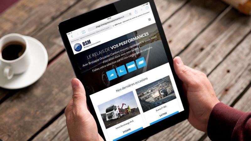 Site de vente de camion d'occasion avec gestion des annonces
