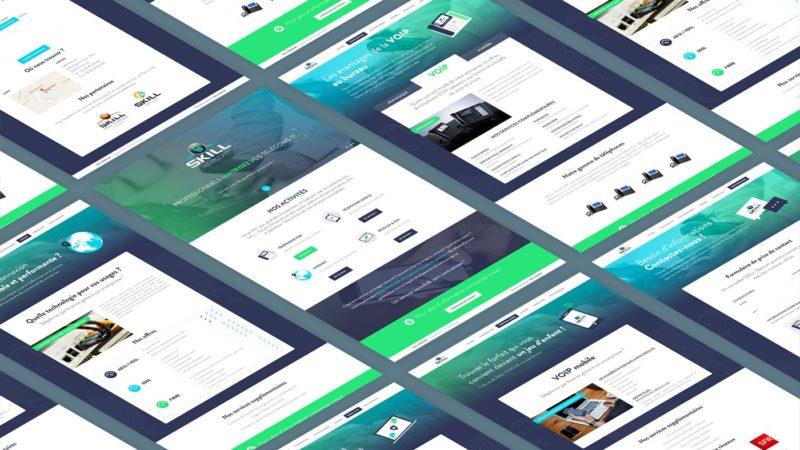 Skill Telecom - Réalisation d'un site administrable