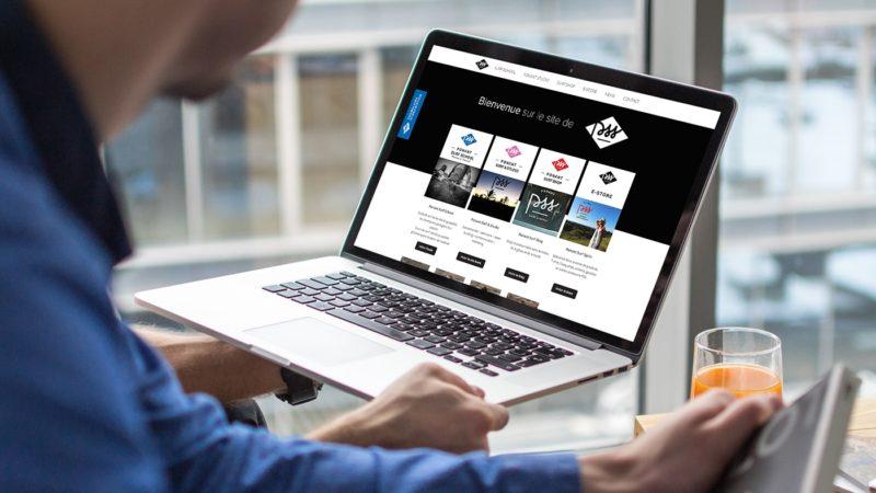 Création d'un site web pour PSS