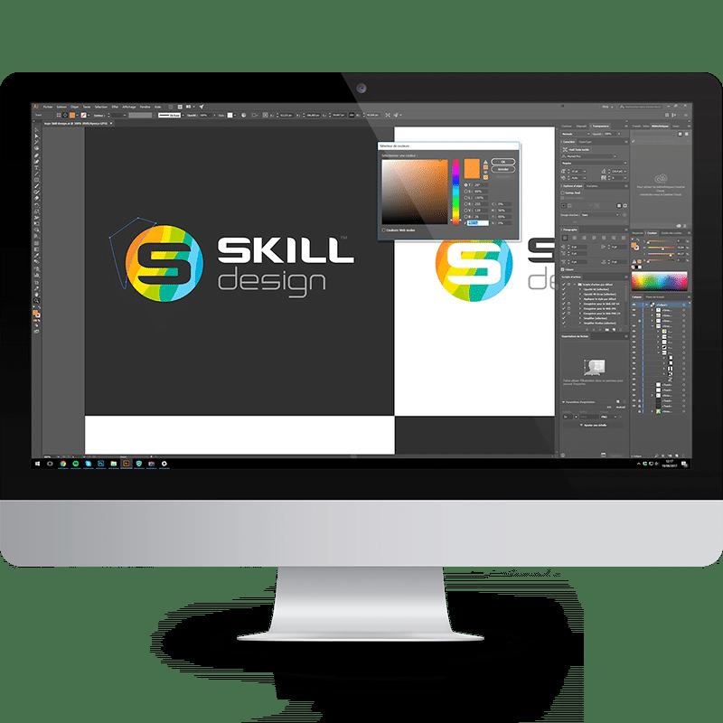 Réalisation d'identité graphique et logo