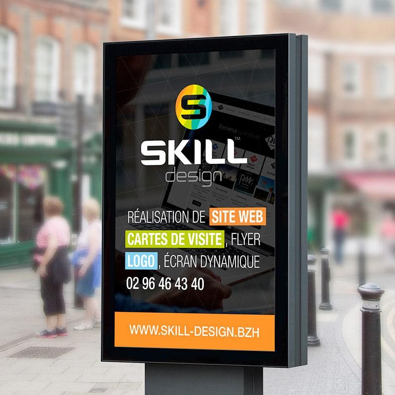Skill design vous propose de la création graphique pour votre communication